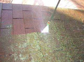 How to remove moss from the roof?